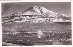 RP: Mt. Shasta from, WEED, California, 1930s-50s