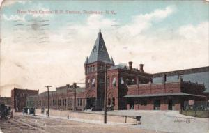 New York Rochester New York Central Railroad Station 1907