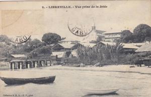 GABON , PU-1911 : Libreville , Vue Prise de la Jette