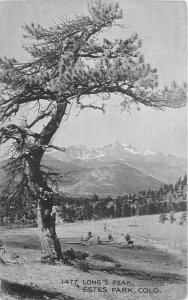 C-1910 Estes Park Colorado Long's Peak #1477 Postcard HTT Co 6074