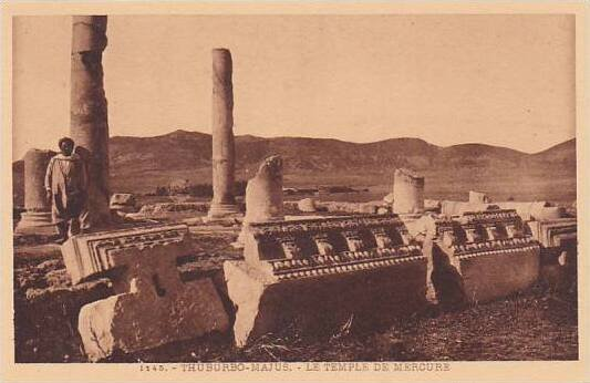 Tunisia Thuburbo-Majus Le Temple de Mercure
