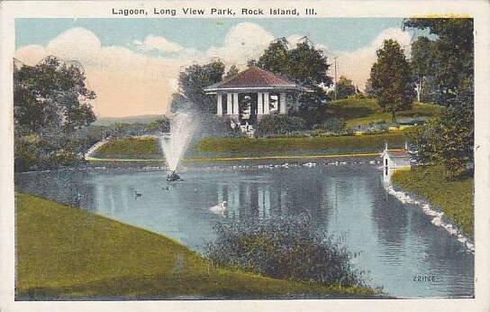 Illinois  Rock Island Lagoon Long View Park