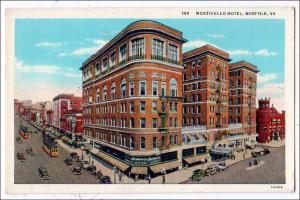 Monticello Hotel, Norfolk VA