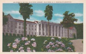 North Carolina Blue Ridge Robert E Lee Hall Blue Ridge Assembly