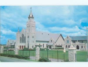Pre-1980 CHURCH SCENE San Juan Texas TX W5545