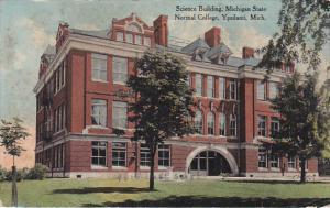 Science Building, Michigan State Normal School, YPSILANTI, Michigan, PU-1912