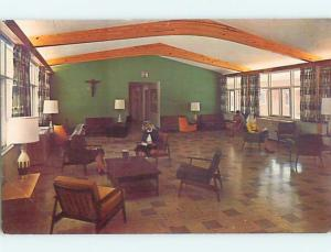 Bent - 1950's LOUNGE AT DOMINICAN RETREAT HOUSE Schenectady New York NY Q8682