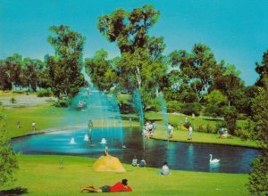King's Park , Western Australia , 50-70s ; Pioneer Woman's Fountain