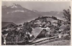 Switzerland Huemoz et Dents du Midi 1957 Photo