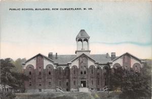 E77/ New Cumberland West Virginia Postcard 1909 Public School Building 4