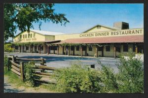 Knott's Berry Farm Ghost Town CA unused c1950's