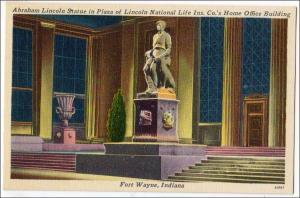 Abraham Lincoln Statue, Fort Wayne Ind