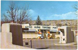 Aztec Ruins Trading Post, Aztec New Mexico NM, Chrome