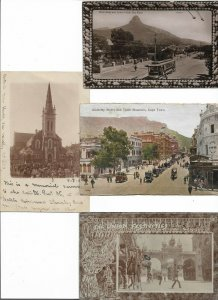 South Africa Cape Town Durban Johannesburg Postcard Lot of 8    01.14