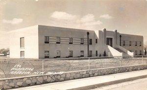 LP10 Artesia New Mexico Postcard RPPC Hospital