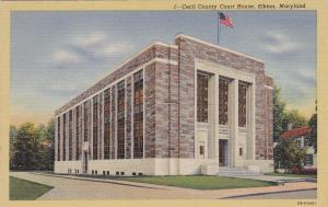 ELKTON, Maryland, 1930-1940's; Cecil County Court House