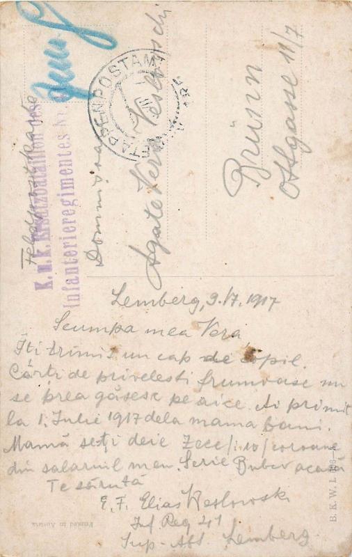 Künstler AK 1917 E. Reckziegel signed postcard baby enfant child portrait