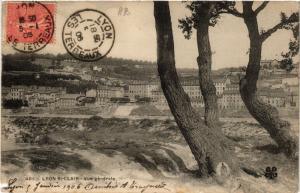 CPA LYON St-CLAIR-Vue générale (442544)