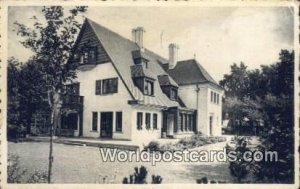 Knokke Zoute Villa Michele, Belgium Postal Used Unknown, Missing Stamp
