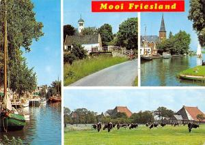 Netherlands Mooi Friesland multiviews, different aspects