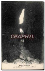 Postcard Old Saint Lunaire Cote D Emerald Interior of Decolle