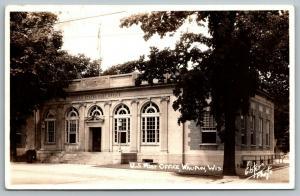 Waupun Wisconsin~US Post Office~Myron Kastein PO Clerk~Collector~1941 RPPC