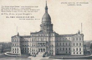 LANSING, Michigan, 1900-10s; State Capitol of Michigan