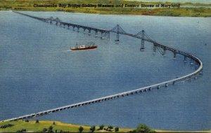 Maryland Chesapeake Bay Bridge Curteich