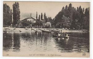 Le Club Nautique Boats Lac du Bourget France postcard