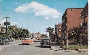 Rue Lindsay , DRUMMONDVILLE , Quebec, Canada , 1950s