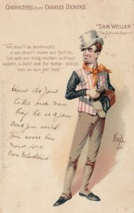 1904 ; Characters From Charles Dickens, Sam Weller TUCK