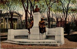 New York Syracuse Fayette Park White Memorial Monument 1914
