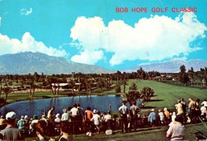 California Palm Desert Bermuda Dunes Country Club Bob Hope Gold Classic 1972