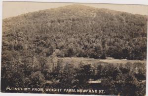 RP: NEWFANE , Vermont , 1909 ; Putney Mountain