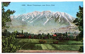 Utah Mount Timpanogos Near Provo