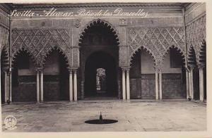 RP, Alcazar, Patio De Las Doncellas, Sevilla (Andalucia), Spain, 1920-1940s