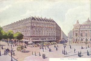 CPA Paris 9e - Grand Hotel (141720)