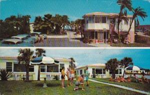 Florida Daytona Beach Harpers Beach Motel 1968