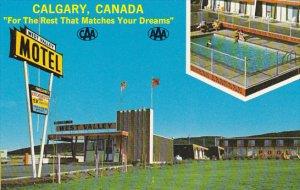 Canada West Valley Motel Calgary Alberta