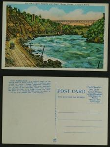 Whirlpool Rapids & Gorge  Tram railway Niagara falls