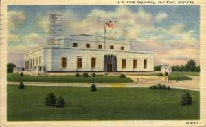 United States Gold Depository Fort Knox KY 1942