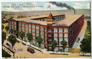 Lyon & Healy Piano Factory, Chicago IL