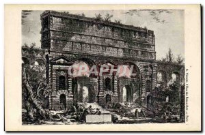 Old Postcard imaginary Ancient City