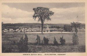 BURLINGTON , Vermont , 00-10s  , Irwin's Dutch Mill