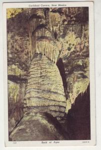 PC11 JLs postcard carlsbad cavern rock of ages nm