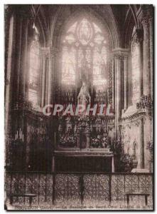 Old Postcard Issoudun Basilica of the Sacre Coeur L & # 39autel life