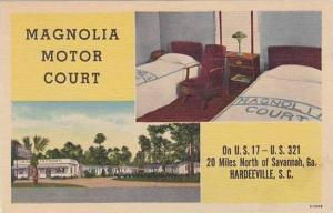 South Carolina Hardeeville Magnolia Motor Court