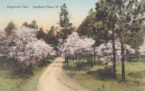 North Carolina Southern Pines Dogwood Time Albertype
