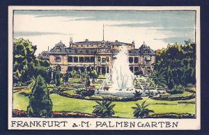 Palmengarten Frankfurt am Main Botanical unused c1910's
