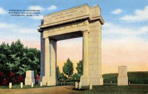 MS - Vicksburg. Vicksburg National Military Park, Entrance